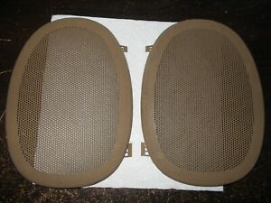 2000 2005 Chevrolet Impala Rear Speaker Cover Set Tan