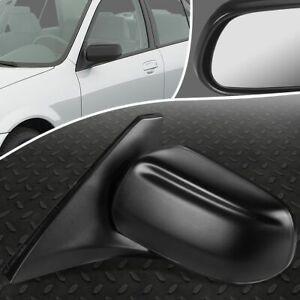 For 99 03 Mazda Protege Oe Style Powered Driver Left Side Rear View Door Mirror