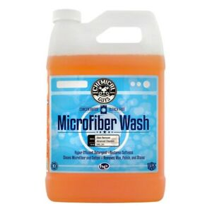 Chemical Guys Microfiber Wash Detergent Cleaning Concentrate Laundry 1 Gallon