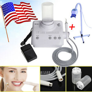 Led Teeth Whitening Light Lamp Ksd Auto Water Ultrasonic Piezo Scaler Fit Ems