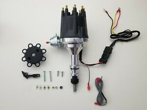 Small Cap Ford Inline 6 Cylinder 170 200 250 Black Pro Series Hei Distributor