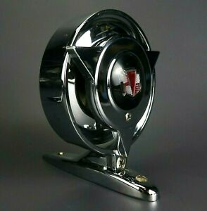 Vintage Heavy Chrome Automobile Side Mirror Nos Mint Pontiac