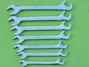 Snap On Svs807 4 Way Sae Open End Wrench Set Flank Plus Svs12 Svs24 3 8 3 4