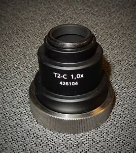 Zeiss Microscope C Mount 1x Camera Adapter