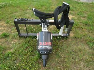 Mcmillen X1975 Hex Skid Steer Loader Auger Drive Unit Attachment Ship 199
