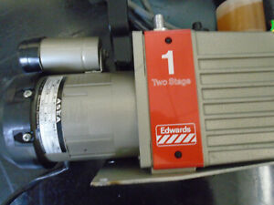 Edwards 1 E2m 1 Two Stage High Vacuum Pump