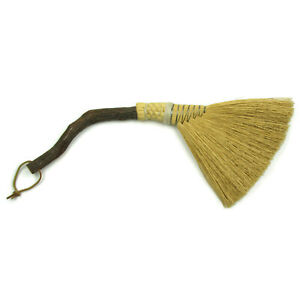 Vintage Berea College Student Craft Ky Hearth Fireplace Broom Loop To Hang 23
