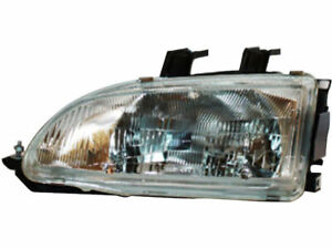 Left Headlight Assembly Tyc K644mq For Honda Civic 1992 1993 1994 1995