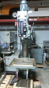 Wilton B 60 Gear Head Drill Press With Power Feed Tapping Coolant