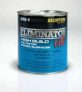 Eliminator High Build Polyester Primer Gray Gallon Usc 300 1 Brand New