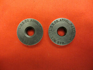 2 Starrett 1in Standards Round Machinist Tool Replacement Lot Look 1462