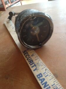 Vintage Clock Car Dash Instrument Ford Chevy Dodge Rat Hot Rod Steam Punk
