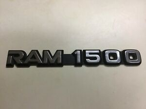 1999 2003 Dodge Ram 1500 Oem Fender Door Emblem 55295310