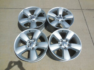20 Silver Painted Dodge Ram 1500 Oem Factory Alloy Wheel Rim 2451 20x8 Set Of 4