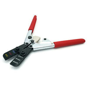 Ftz Electrical Ratcheting Crimp Tool For 26 14 Gauge Insulated Terminals