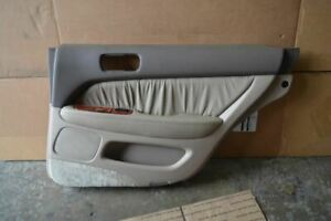 1995 1996 1997 Lexus Ls400 Right Passenger Side Rear Door Trim Panel Tan