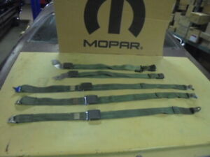 1968 1969 Charger Road Runner Coronet Gtx Seat Belt Lot