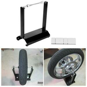 High Quality Motorcycle Black Wheel Balancer Balancing Stander Maintenance Rack