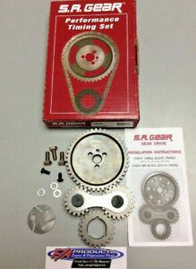 Small Block Chevy 350 Roller Cam Engine Gear Drive Timing Kit S A Gear 78450
