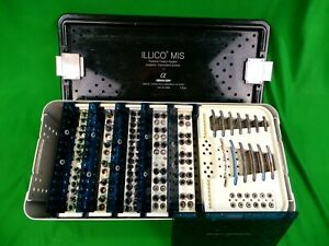 Alphatec Spine Illico Mis Posterior Fixation System Implants Cannulated Screws