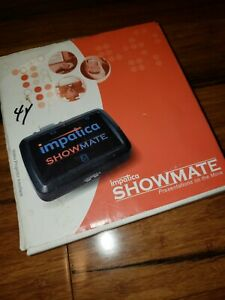 New In Box Impatica Showmate Powerpoint Presentation Tool Video Projector Inter