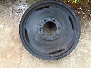 Ford 8n Front Tractor Wheel Original Vintage