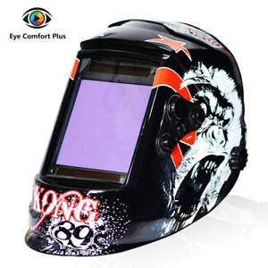 Tekware Welding Helmet 4c Lens Technology Solar Power Auto Darkening Hood True