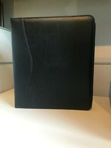 Royce Leather Executive 2 Inch D ring Binder Black 300 9