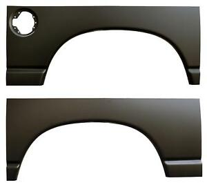 Rear Wheel Arch Quarter Panel With Gas Hole 02 08 Dodge Ram 1500 Pair