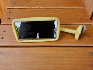 Rare Vintage Marbelized Plastic Side Mirror