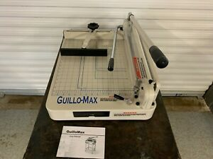 Tamerica Guillo max Heavy duty Stack Manual Power Paper Cutter