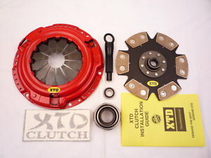 Stage 4 Miba Racing Clutch Kit 93 02 Mirage 1 8l 1700 Series