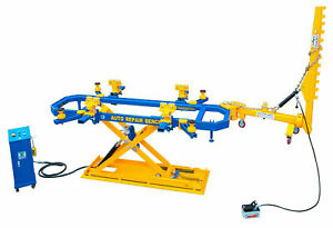Car Bench Auto Body Collision Repair System Frame Machine 7700 Lb Capacity