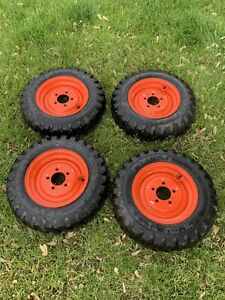 Brand New Skid Steer Tires wheels For Bobcat 440 453 463 s70 4 5 70 12 Sks 532