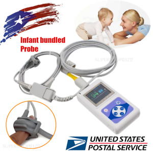Neonatal Infant Pediatric Kids Born Bundled Pulse Oximeter Spo2 Monitor software