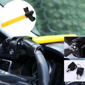 1 Pcs Anti theft Security Rotary Steering Wheel Lock Top Mount For Suv Auto Car