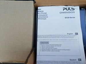 Puls Dimension Power Supply new Factory Packaging Qt20 241