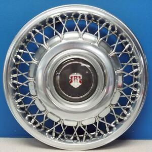 Late 1986 1988 Oldsmobile 98 4098b 14 Wire Hubcap Wheel Cover 25527327