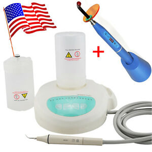 Lcd Dental Piezo Ultrasonic Scaler Cavitron Self Contained Water Curing Light