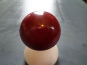 Vintage Dakaware Red Shifter Knob 1 2 20 Threads Us Made