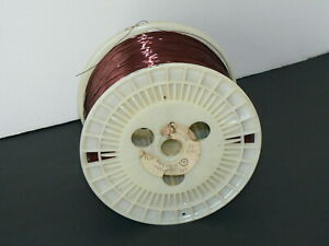 10 Lb Spool Of Belden 26 Awg Enameled Copper Armored Poly thermaleze Magnet Wire