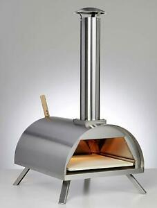 Wood Pellet Pizza Oven Wppokit Wppo1 Portable Stainless Steel