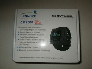 Innovo Bluetooth enabled 50f Plus Wrist Pulse Oximeter Heart Rate Monitor