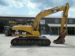 2007 Caterpillar 312c Excavator One Owner Lower Hours Super Nice