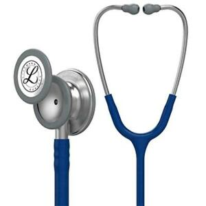 3m Littmann Classic Iii Monitoring Stethoscope Navy Blue Tube 27 Inch 5622