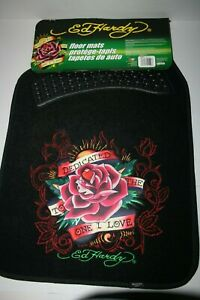 Ed Hardy Automobile Floor Mats Dedicated To The One I Love Auto Expressions