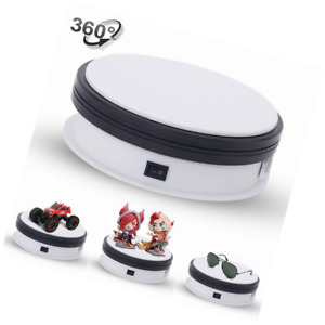 Yuanj Motorized Turntable Display 360 Degree Electric Rotating For Jewelry Wat