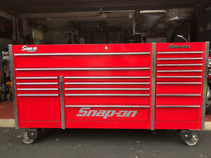Snap On Master Series Krl7023 Apbo Stainless Steel Top Tool Box