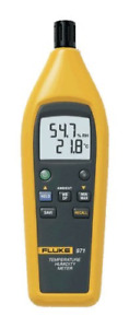 Fluke 971 Temperature Humidity Meter With Backlit Dual Display With A With Data