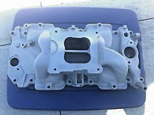 Bbc Chevy Holley Street Dominator Intake Manifold Winters 396 454 402 Oval Port
